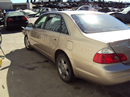 2003 TOYOTA AVALON XLS MODEL 4 DOOR SEDAN 3.0L V6 AT FWD COLOR GOLD STK Z12324