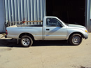 2001 TOYOTA TACOMA DELUXE MODEL REGULAR CAB 2.4L AT 2WD COLOR SILVER STK Z12329