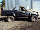 1985 TOYOTA PICK UP XTRA CAB SR5 MODEL 2.4L EFI MT 2WD 5 SPEED COLOR WHITE STK Z12327