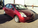 2004 TOYOTA PRIUS 4 DOOR HATCHBACK HYBRID 1.5L AT FWD COLOR RED STK Z12331