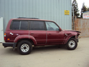 1997 TOYOTA LAND CRUISER 4.0L AT 4WD COLOR RED STK Z12335