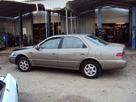 1999 TOYOTA CAMRY 4 DOOR SEDAN LE MODEL 2.2L AT COLOR TAN STK Z12341