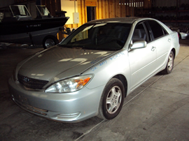 2002 TOYOTA CAMRY 4 DOOR SEDAN LE MODEL 3.0L AT FWD COLOR SILVER STK Z12342