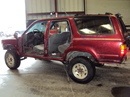 1990 TOYOTA 4RUNNER SUV SR5 MODEL 3.0L V6 AT 4X4 COLOR RED STK Z12353