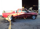 1996 TOYOTA TACOMA XTRA CAB 3.4L V6 AT 2WD COLOR RED STK Z12360