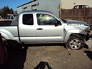 2005 TOYOTA TACOMA XTRA CAB PRE RUNNER SR5 MODEL 4.0L V6 AT 2WD COLOR SILVER STK Z13369
