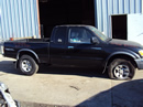2000 TOYOTA TACOMA XTRA CAB PRE RUNNER TRD MODEL 3.4L V6 MT 4X4 WITH REAR DIFF LOCK COLOR BLACK STK Z13370