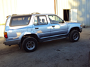 1995 TOYOTA 4RUNNER SR5 MODEL 3.0L V6 AT 4X4 COLOR BLUE STK Z13372