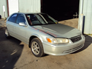 2000 TOYOTA CAMRY 4 DOOR SEDAN LE MODEL 3.0L V6 AT FWD COLOR SILVER STK Z13373