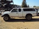 1999 TOYOTA TACOMA XTRA CAB DLX MODEL 3.4L V6 WITH TRD SUPERCHARGER MT 4X4 WITH REAR DIFF LOCK COLOR WHITE STK Z13384