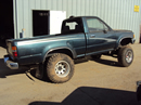 1994 TOYOTA PICK UP REGULAR CAB DLX MODEL 2.4L EFI MT 4X4 COLOR GREEN STK Z13387