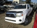 2010 TOYOTA TACOMA, 2.7L 5SPEED 4WD ACCESSCAB, COLOR WHITE, STK Z15926