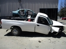 2004 TOYOTA TUNDRA STD CAB WHITE LONG BED 3.4L 2WD MT Z15966