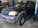 2001 TOYOTA SEQUOIA SR5 GREEN 4.7L V8 AT 4WD Z15971