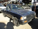 1993 TOYOTA TRUCK BLUE 2.4L MT 2WD 1/2 TON SHORT BED Z15976