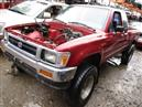 1994 TOYOTA TRUCK RED XTRA CAB 2.4L MT 4WD Z15081