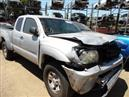 2006 TOYOTA TACOMA SR5 PRERUNNER SILVER XTRA CAB 4.0L AT 2WD Z18171