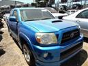 2006 TOYOTA TACOMA XRUNNER BLUE XTRA CAB 4.0L MT 2WD Z18240