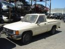 1986 TOYOTA TRUCK  2.4L MT AWD TAN