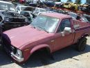 1981 TOYOTA TRUCK  2.4L MT 4X4  RED