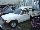 1986 TOYOTA TRUCK FLAT BED 2.4L EFI AT 2WD COLOR WHITE