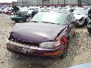 1993 TOYOTA CAMRY LE MODEL 4 DOOR SEDAN 2.2L AT COLOR MAROON